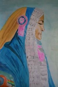 Rana Tharu Woman, Nepal