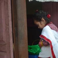 A newari girl