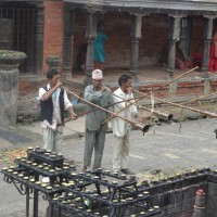 Musical performance at Janai Purnima Day