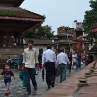on Kathmandu Durbar Square