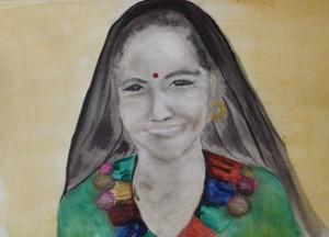 Rana Tharu Woman